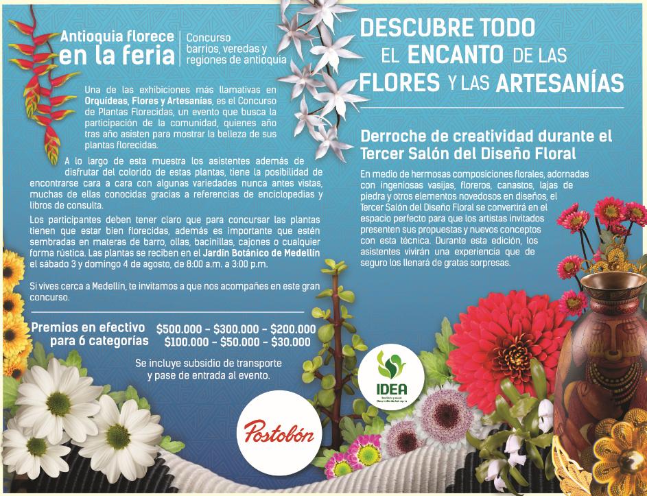 Barrios y veredas – Antioquia florece en la feria