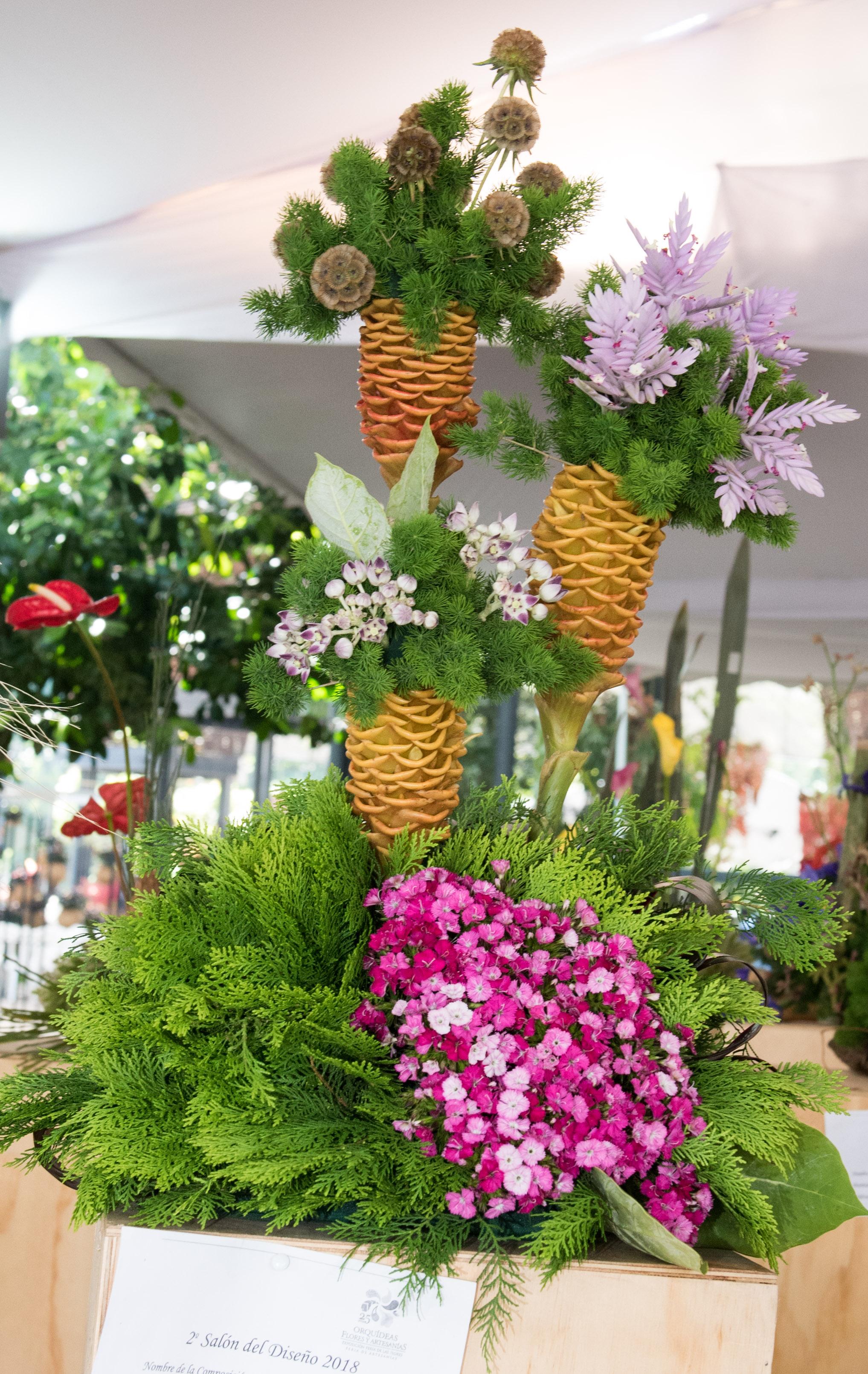 Derroche de Creatividad durante el Tercer Salón del Diseño Floral