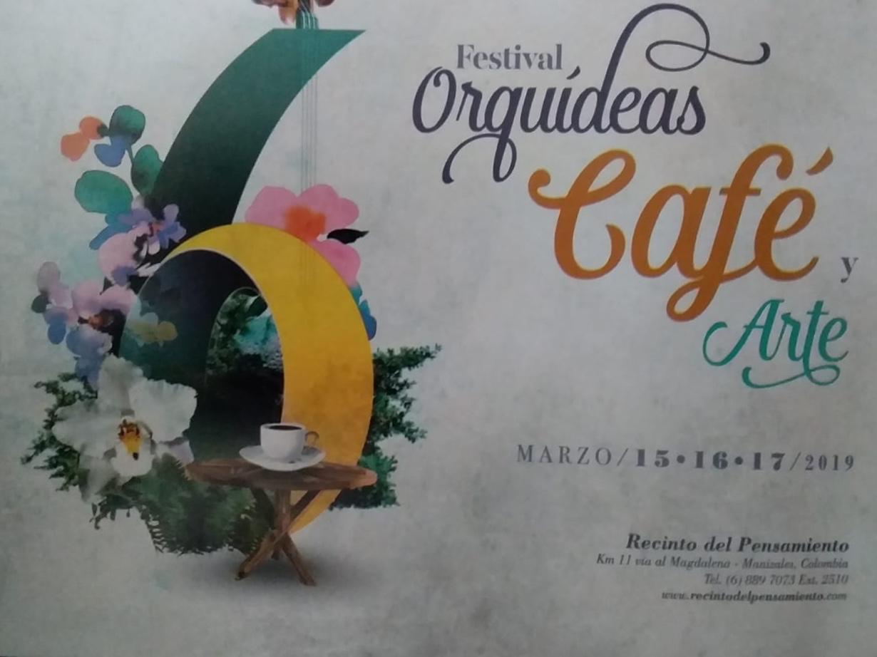 6 festival Orquídeas, Café y a Arte